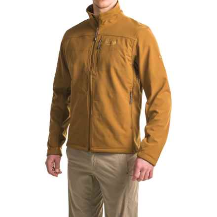Mountain Hardwear Ruffner Hybrid Jacket - Full Zip (For Men) in Golden Brown - Closeouts