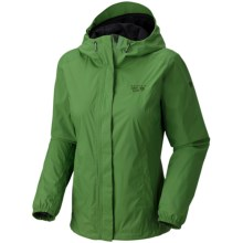 Mountain Hardwear Runoff Dry.Q Core Jacket - Waterproof (For Women) in Palm - Closeouts
