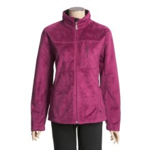 Mountain Hardwear Sable Fleece Jacket (For Women) in Berry Soda - Closeouts