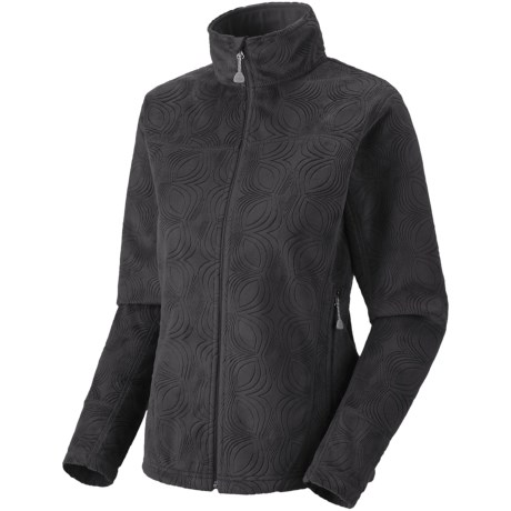 Mountain Hardwear Sable Jacket - Fleece (For Women) in 010 Black