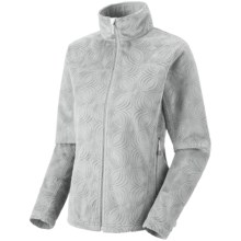 Mountain Hardwear Sable Jacket - Fleece (For Women) in Cool Grey - Closeouts