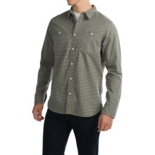 Mountain Hardwear Sadler Shirt - Long Sleeve (For Men) in Stone Green - Closeouts