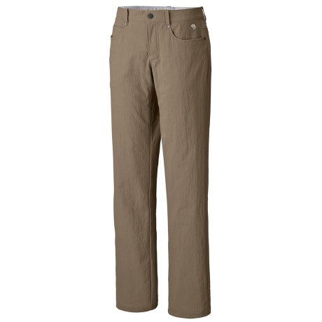 Mountain Hardwear Sajama Gene Pants - UPF 50 (For Women) in 203 Khaki