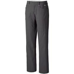 Mountain Hardwear Sajama Gene Pants - UPF 50 (For Women) in Shark