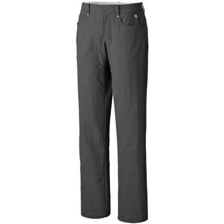 Mountain Hardwear Sajama Gene Pants - UPF 50 (For Women) in Shark - Closeouts