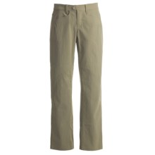 Mountain Hardwear Sajama Salado Pants - UPF 50, Stretch Canvas (For Women) in Stone Green - Closeouts
