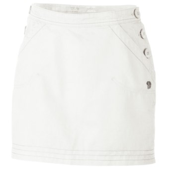 Mountain Hardwear Sandhills Skirt - Organic Cotton-Hemp (For Women) in Sea Salt
