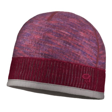 Mountain Hardwear Sarafin Beanie Hat - Reversible (For Women) in Thunderbird Red