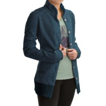 Mountain Hardwear Sarafin Cardigan Sweater - Recycled Wool Blend (For Women) in Zinc - Closeouts