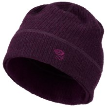 Mountain Hardwear Sarafin Dome Beanie Hat - Reversible (For Women) in Black Cherry - Closeouts