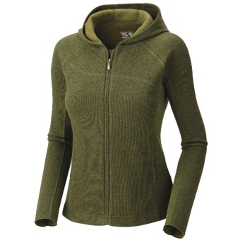 Mountain Hardwear Sarafin Hooded Sweatshirt - Wool, Recycled Materials (For Women)
