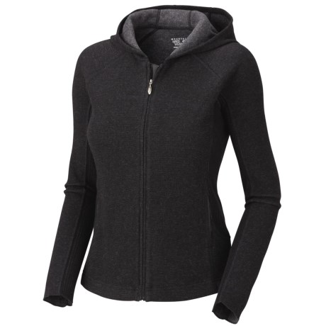 Mountain Hardwear Sarafin Hoodie - Wool, Recycled Materials (For Women) in Black