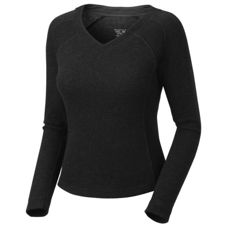 Mountain Hardwear Sarafin Sweater - Recycled Wool Blend (For Women) in Black