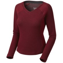 Mountain Hardwear Sarafin Sweater - Recycled Wool Blend (For Women) in Marinara - Closeouts
