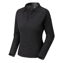 Mountain Hardwear Sarafin Sweater - Wool, Recycled Materials (For Women) in Black - Closeouts
