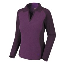 Mountain Hardwear Sarafin Sweater - Wool, Recycled Materials (For Women) in Iris Glow - Closeouts