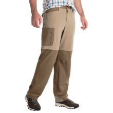 Mountain Hardwear Sawhorse Canvas Convertible Pants - UPF 50 (For Men) in Khaki - Closeouts