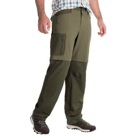 Mountain Hardwear Sawhorse Canvas Convertible Pants - UPF 50 (For Men) in Stone Green - Closeouts