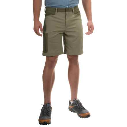 Mountain Hardwear Sawhorse Shorts - UPF 50 (For Men) in Stone Green - Closeouts