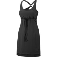 Mountain Hardwear Scenic Route Dress - UPF 25, Sleeveless (For Women) in Black - Closeouts
