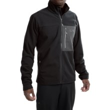 Mountain Hardwear Scrambler Fleece Jacket (For Men) in Black - Closeouts