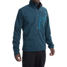 Mountain Hardwear Scrambler Fleece Jacket (For Men) in Hardwear Navy - Closeouts