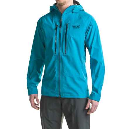 Mountain Hardwear Seraction Dry.Q® Elite Jacket - Waterproof (For Men) in Dark Compass - Closeouts