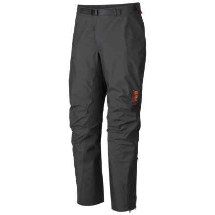 Mountain Hardwear Seraction Dry.Q® Elite Pants - Waterproof (For Men) in Shark/Shark - Closeouts