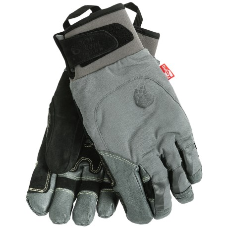 photo: Mountain Hardwear Seraction Glove climbing glove