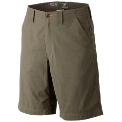 Mountain Hardwear Setter Shorts - UPF 50 (For Men) in Stone Green