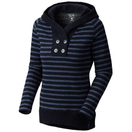 Mountain Hardwear Sevina Hoddie - Wool Blend (For Women) in Collegiate Navy