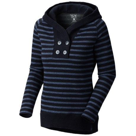 Mountain Hardwear Sevina Hoodie - Wool Blend (For Women) in Collegiate Navy