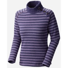 Mountain Hardwear Sevina Sweater - Recycled Wool Blend (For Women) in Dusty Purple - Closeouts