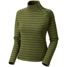 Mountain Hardwear Sevina Sweater - Recycled Wool Blend (For Women) in Jungle - Closeouts