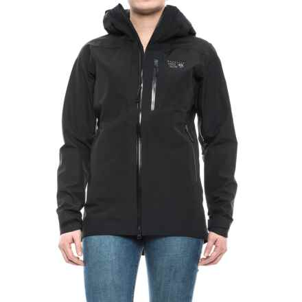 Mountain Hardwear Sharkstooth Jacket - Waterproof (For Women) in Black - Closeouts
