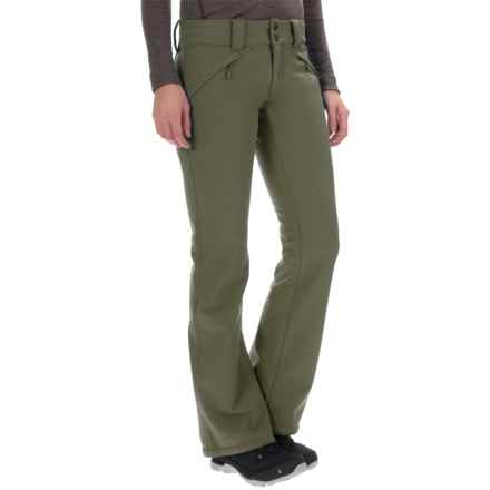 Mountain Hardwear Sharp Chuter Pants (For Women) in Stone Green - Closeouts