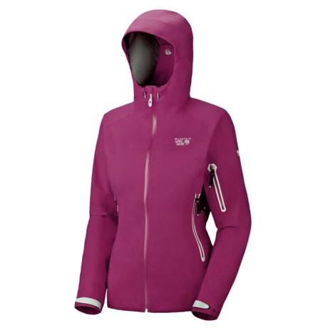 Mountain Hardwear Silvretta Jacket - Waterproof (For Women) in Berry Soda