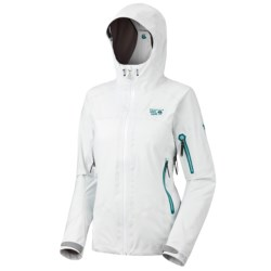 Mountain Hardwear Silvretta Jacket - Waterproof (For Women) in Casper