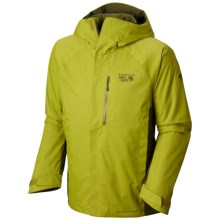Mountain Hardwear Sluice Dry.Q® Core Jacket - Waterproof, Insulated (For Men) in Python Green/Utility Green - Closeouts