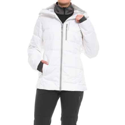 Mountain Hardwear Snowbasin Down Ski Jacket - 650 Fill Power (For Women) in White - Closeouts