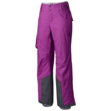 Mountain Hardwear Snowburst Cargo Pants - Insulated (For Women) in Berry Jam - Closeouts