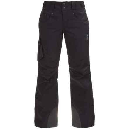 Mountain Hardwear Snowburst Dry.Q® Cargo Ski Pants - Waterproof, Insulated (For Women) in Black - Closeouts