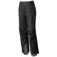 Mountain Hardwear Snowburst Dry.Q® Pants - Waterproof, Insulated (For Women) in Black - Closeouts