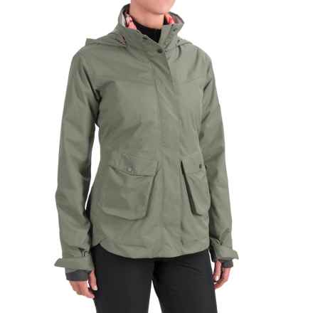 Mountain Hardwear Snowburst Trifecta Jacket - 3-in-1, Waterproof, Insulated (For Women) in Stone Green - Closeouts