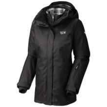 Mountain Hardwear Snowburst Trifecta Redux Interchange Jacket - Waterproof, 3-in-1 (For Women) in Black - Closeouts