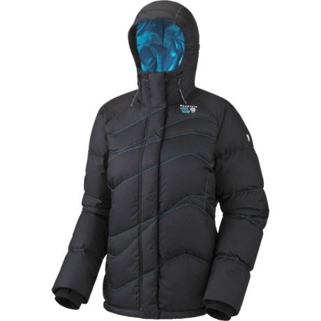 Mountain Hardwear Snowdeo Down Jacket - 650 Fill Power (For Women) in Black