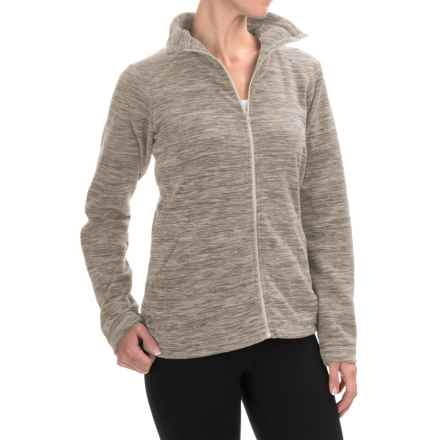 Mountain Hardwear Snowpass Fleece Jacket (For Women) in Heather Khaki - Closeouts