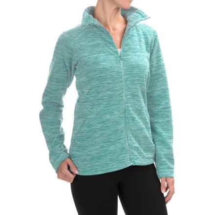 Mountain Hardwear Snowpass Fleece Jacket (For Women) in Heather Spruce Blue - Closeouts