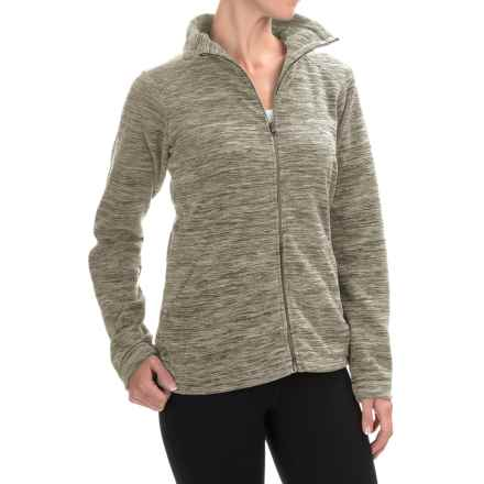 Mountain Hardwear Snowpass Fleece Jacket (For Women) in Heather Stone Green - Closeouts