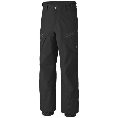 Mountain Hardwear Snowpocalypse Dry.Q Elite Snow Pants - Waterproof (For Men) in Black